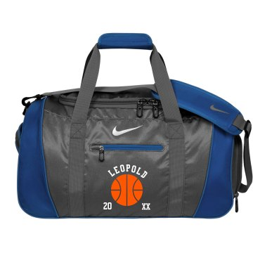 Custom Basketball Duffel