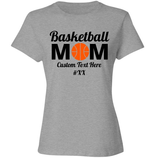 Custom Basketball Mom Fan