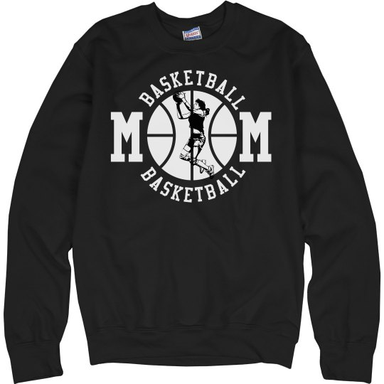 Custom Basketball Mom Fleece Sweaters