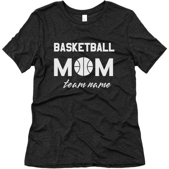 Custom Basketball Mom Tees
