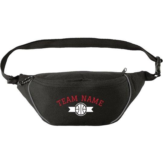 Custom Basketball Team Banner Bag