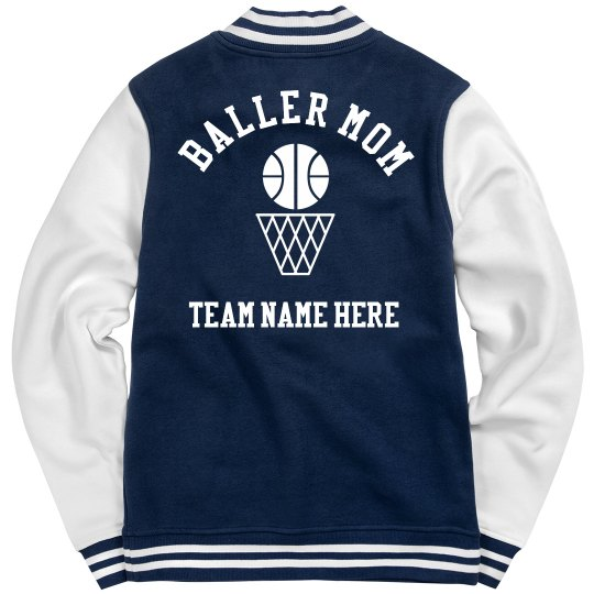 Custom Basketballer Mom