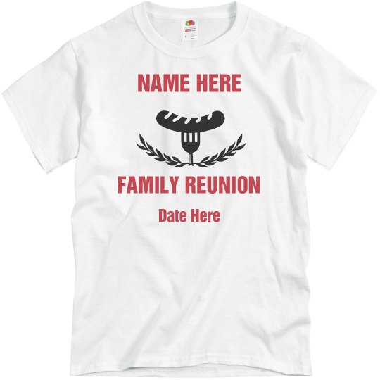 Custom BBQ Family Reunion