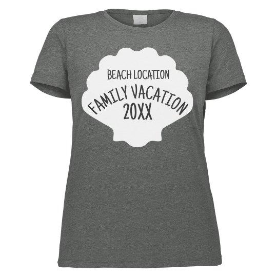Custom Beach Family Vacation