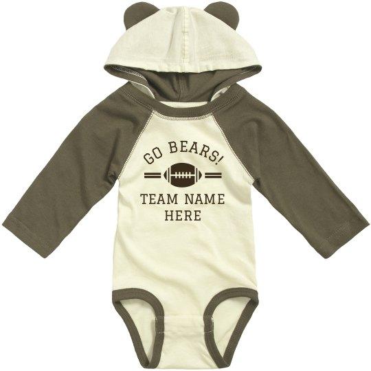 Custom Bears Team Bodysuit