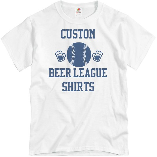 Custom Beer League Softball Shirts