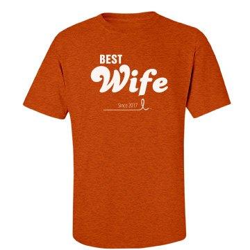 Custom Best wife since