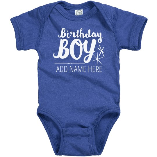 CUSTOM BIRTHDAY BOY ADD NAME
