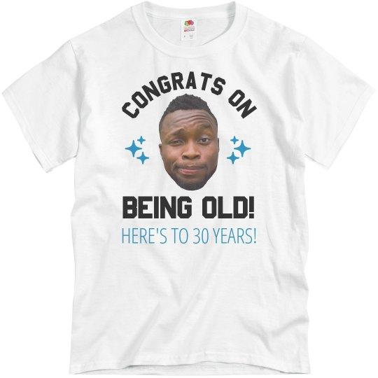 Custom Birthday Shirt With Photo