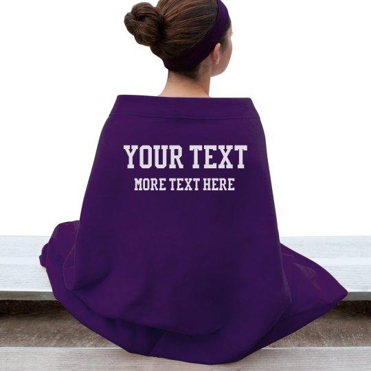 Custom Blanket Sports/Football