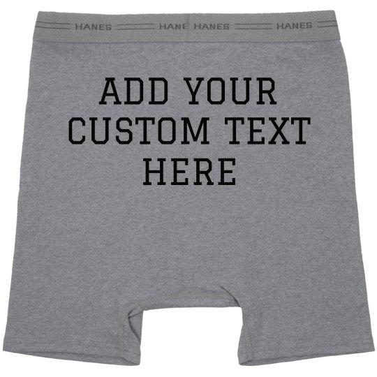 Custom Boxer Briefs