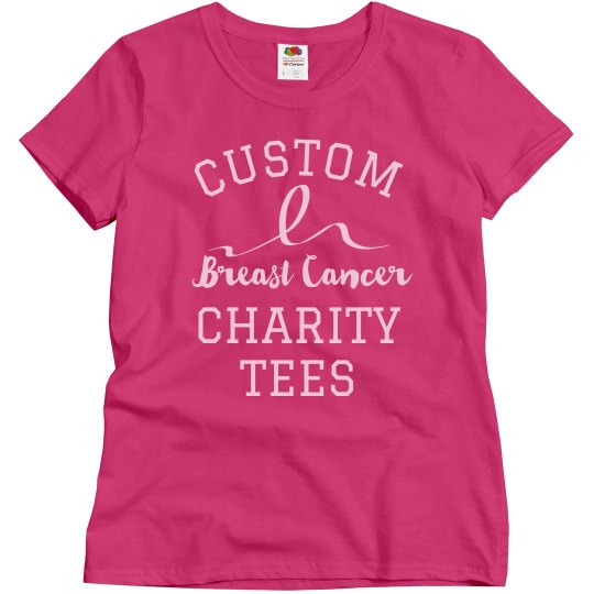 Custom Breast Cancer Shirts