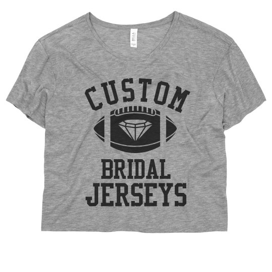 Custom Bridal Jerseys