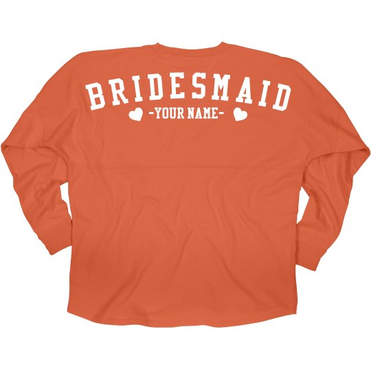 Custom Bridesmaid Love