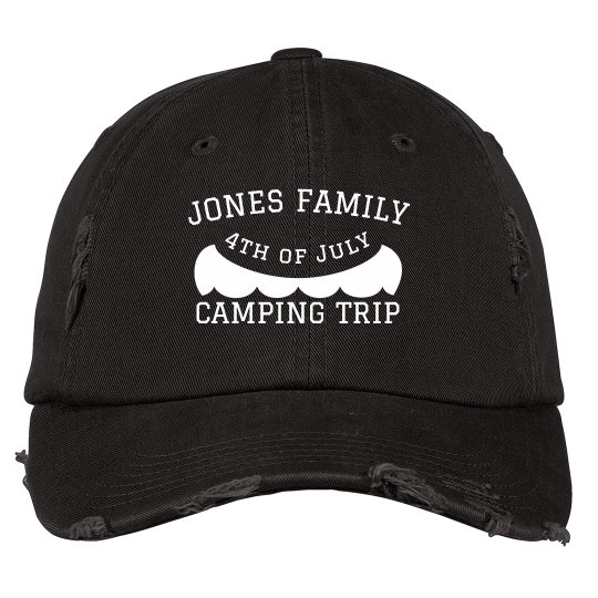 Custom Camping Fourth of July