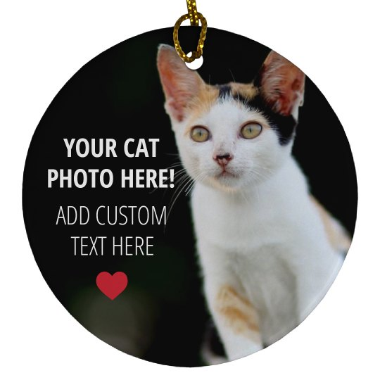 Custom Cat Photo Gift