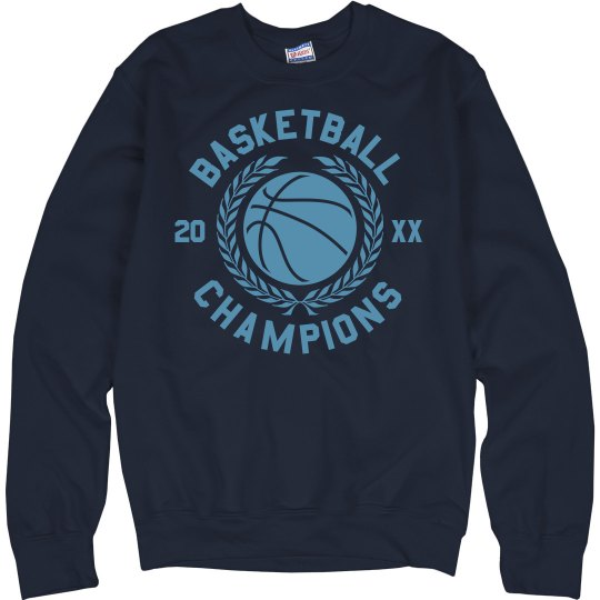 Custom Champions Basketball Sweater