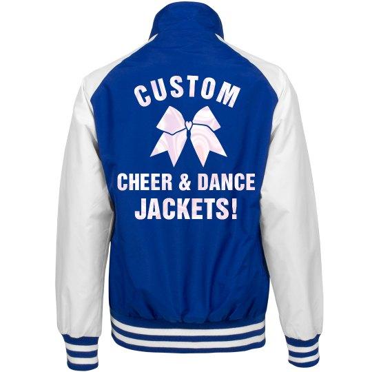 Custom Cheer and Dance Jackets