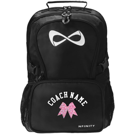 Custom Cheer Backpack For Coaches