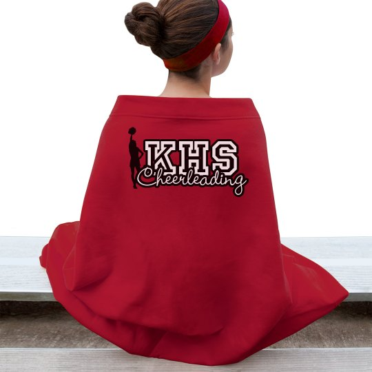 Custom Cheer Blankets