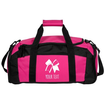 Custom Cheer Bow Bag