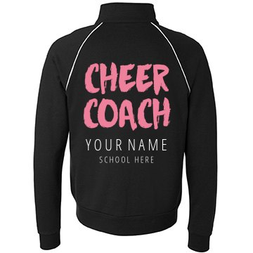 Custom Cheer Coach Jacket