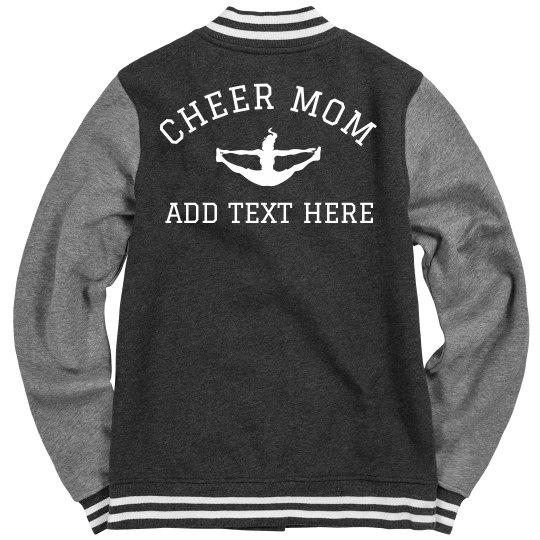 Custom Cheer Mom Bomber