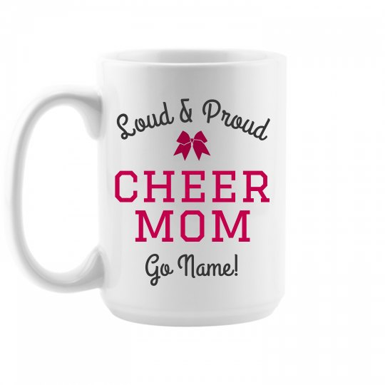 Custom Cheer Mom Gift