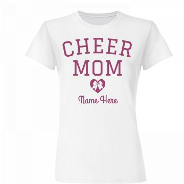 Custom Cheer Mom Shirt