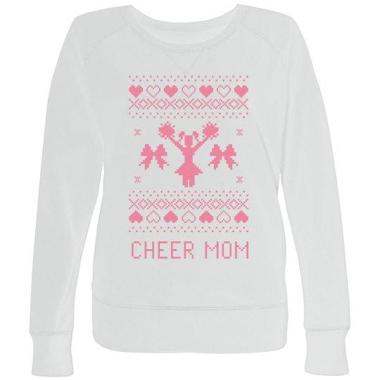 Custom Cheer Mom Ugly Sweater