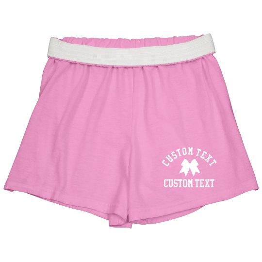 Custom Cheer Shorts For Teams