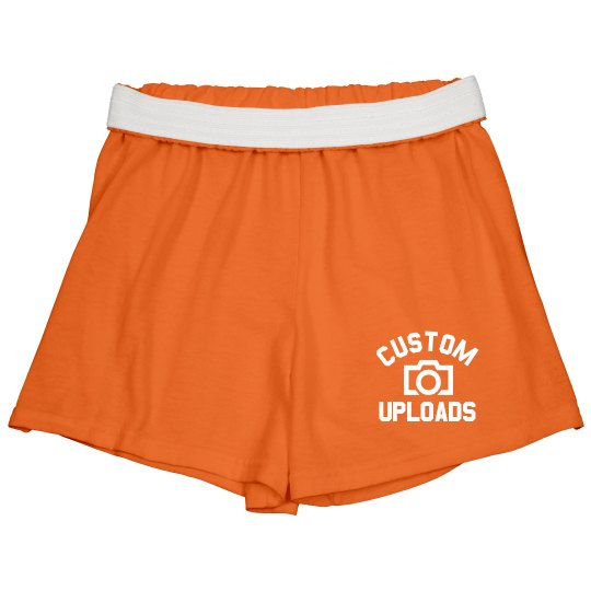 Custom Cheer Shorts Upload Images