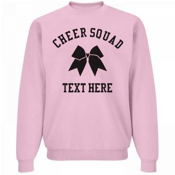Custom Cheer Squad Bow