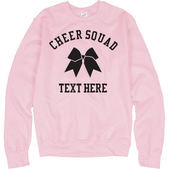Custom Cheer Squad Bow