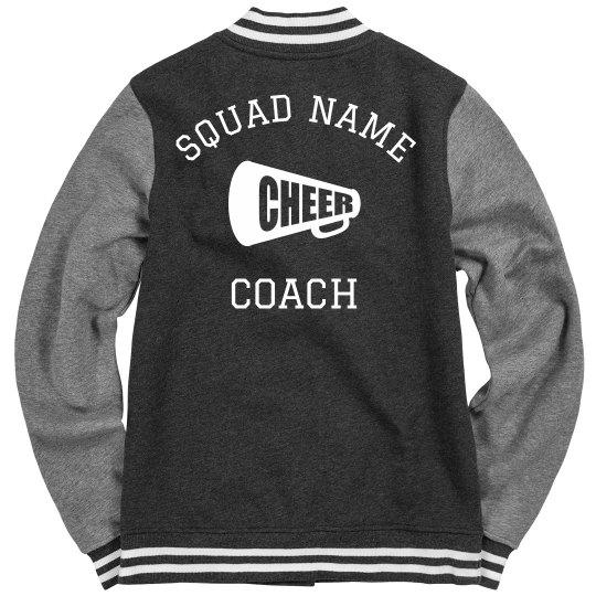 Custom Cheer Squad Name Coach