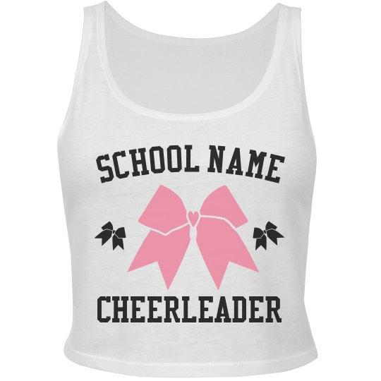 Custom Cheer Team Crop Top