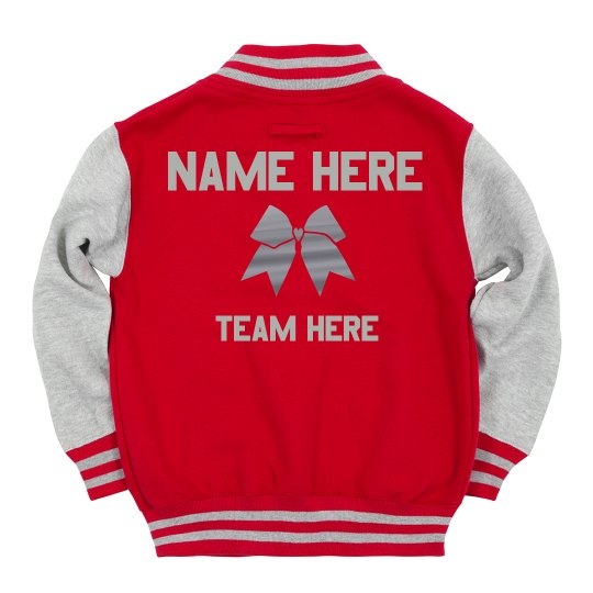 Custom Cheer Team Jacket