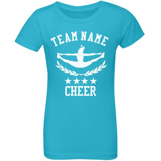 Custom Cheer Team Tee