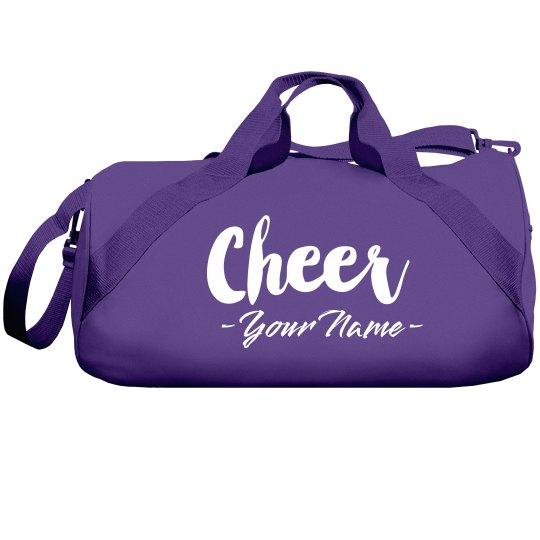 Custom Cheerleader Duffle Bag