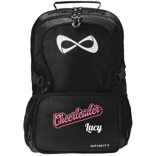 custom cheerleader nfinity backpack nfinity black backpack bag