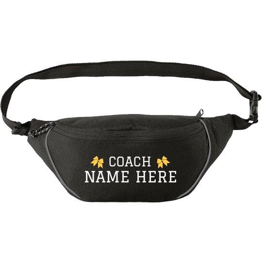 Custom Cheerleading Coach Fanny Pack