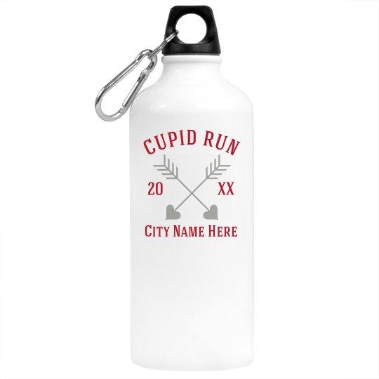 Custom City Cupid Water Bottle