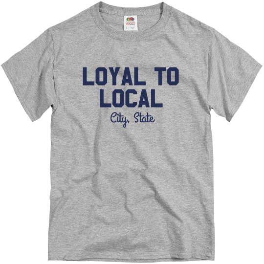Custom City Local T-Shirt