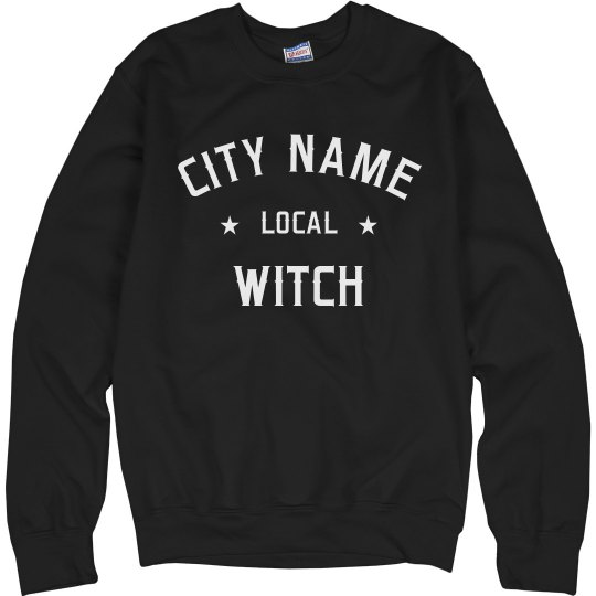 Custom City Name Local witch