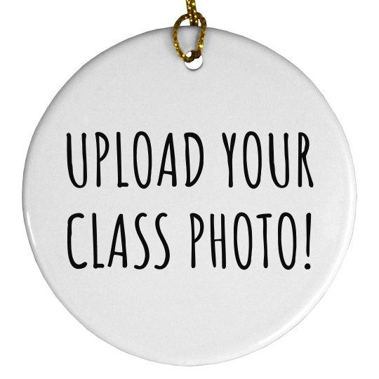 Custom Class Photo Teacher Gift
