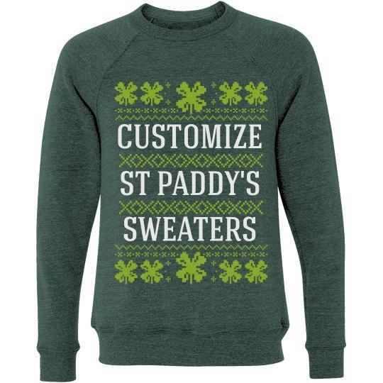 Custom Clover Ugly Sweater