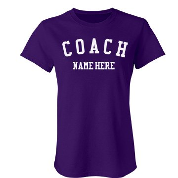 Custom Coach Name