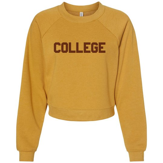 Custom College Name School Sweater