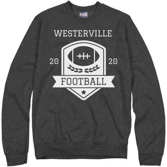 Custom College or High School Football