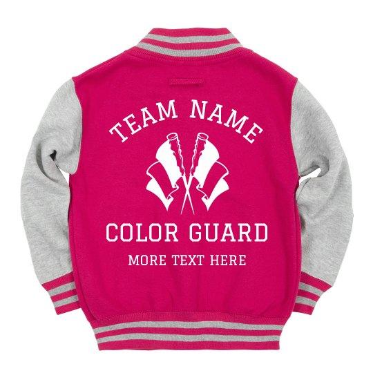 Custom Color Guard Team Gear